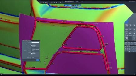 Tebis 针对于在过渡区域的曲面质量高精调整