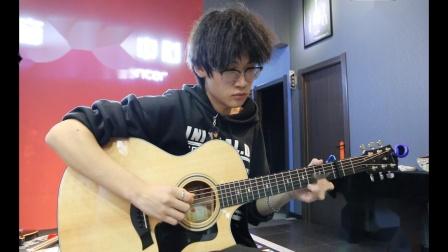 泰安七乐音乐艺术中心  李家衡  原声吉他演奏《说好的幸福呢》