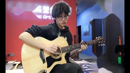 泰安七乐音乐艺术中心   李家衡   原声吉他演奏 《简单爱》