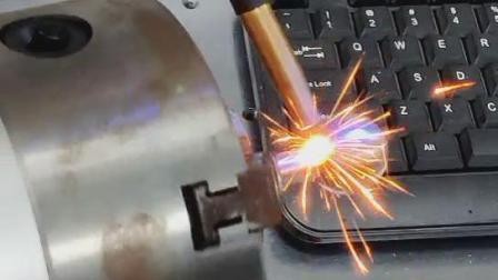赛硕激光光纤连续自动焊接机