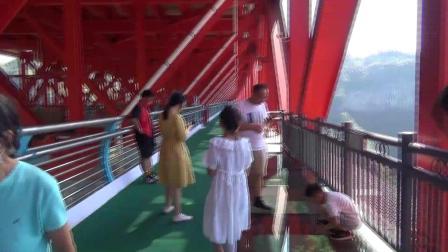 湖南省吉首市 矮寨奇观旅游区之矮寨大桥风光【5】桥内观光通道