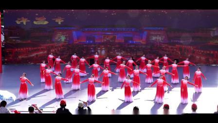舞蹈:我爱你中国,表演:魏都区文化馆艺术团