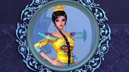 精灵梦叶罗丽:齐娜为了保护奶奶,不准备把水晶球给女王