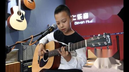 泰安七乐音乐艺术中心  律晨宇  吉他弹唱 《送别》