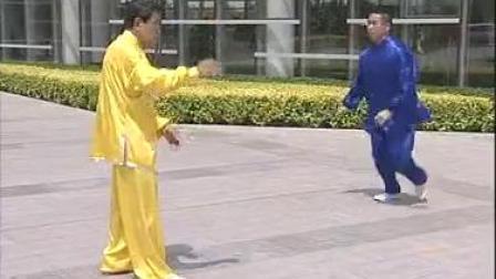 刘庆洲:太极推手7.基本技法讲介:采、挒、肘、靠