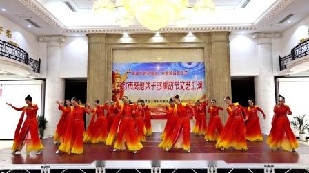 舞蹈:灯火里的中国,表演:开封俏金秋艺术团