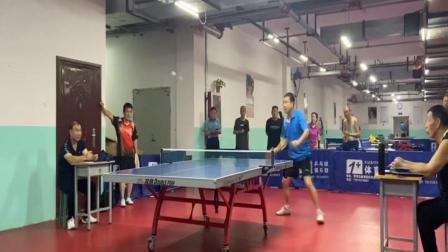安宁走基层:球友发过来的视频,欣赏一下唐县男子乒乓健将的球技.mpg