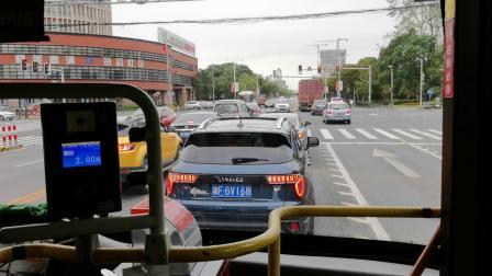 【奉贤客运】奉贤7路公交车(沪D·H4780)(公交西渡站-百顺路)全程