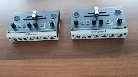 Roland V-02HD MKII 切换台开箱对比
