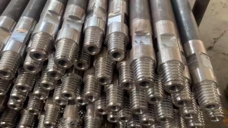 地质圆钻杆 锥螺纹连接采用热处理工艺 瑞龙钻具