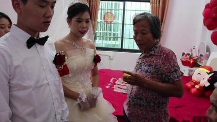 广西博白县庞世威 卢锦红结婚录像下集