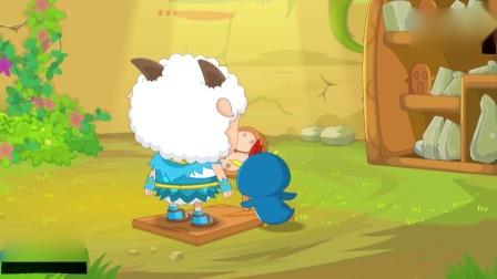 喜羊羊与灰太狼:为竞选队长,喜羊羊不断吃饭和锻炼,开始增重