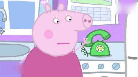 小猪佩奇2:佩奇一家去爷爷奶奶家,却碰上交通堵塞,着急!