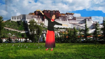 藏族舞《蓝色天梦》演绎 李明 滕州市老干部服务中心 录制