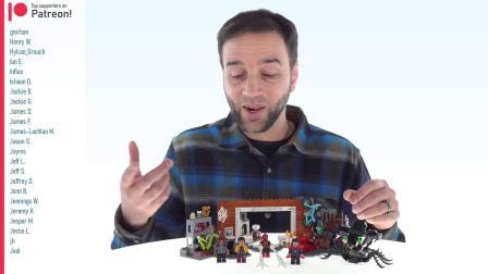 乐高76185 Spider-Man at the Sanctum Workshop LEGO积木砖家评测