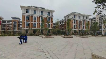 宽敞漂亮的校园 麻阳苗族自治县第二锦江小学校园风光