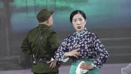 王冰 刘晓先 张柏青在校园演唱《沙家浜、智斗》2021,10,14