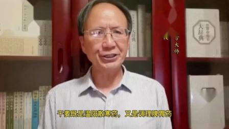 全国著名经方大师王付教授全新解读学好用活经方干姜附子汤