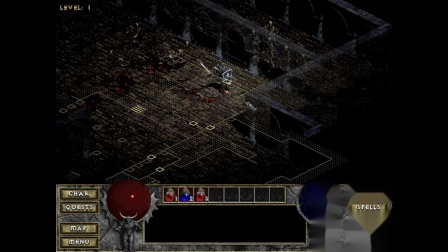 《暗黑破坏神》地图清理大师 战士01