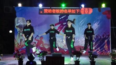 新洲飞扬舞队《中国山河美》2021年重阳沙院新生街舞队晚会