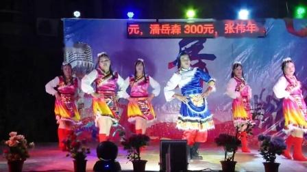 后背村健身舞队《相约草原》2021年重阳沙院新生街舞队晚会