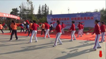 5-汝南县2021年重阳节汝南柔力球协会集体·表演:柔力球《歌唱祖国》