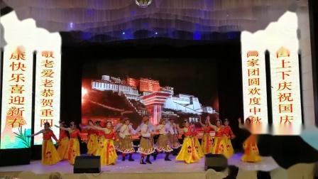 """3 舞蹈《山 歌 唱 给 伟 大 的 党》- 黎明分会老版纳艺术团""""庆三节 迎新春""""联欢会"""