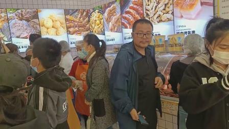 郑州路鲜卤好呲先生熟食店营业现场~小投资熟食项目