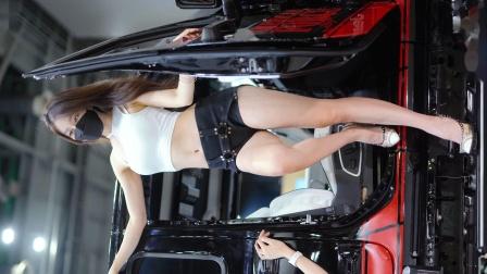 赛车模特韩智恩-2021自动沙龙周