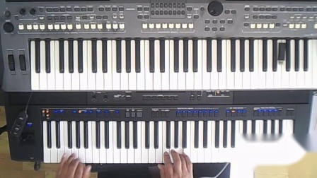 SX700电子琴演奏《红旗飘飘》[2021_10_17 ].wmv