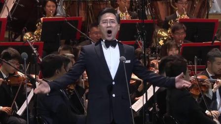 男中音歌唱家廖昌永演唱《像天使一样美丽》选自歌剧《唐.帕斯夸勒》 》2021年10月16日第13届中国音乐金钟奖开幕音乐会