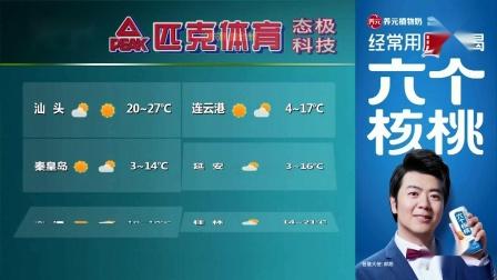 全国晚间天气预报 2021年10月17日