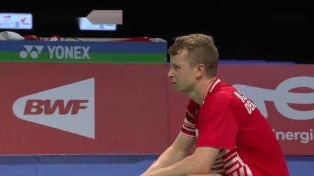 羽毛球八强赛汤姆斯杯精华2021-丹麦对印度 1080p