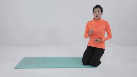 弹力带简易训练下肢仰卧抬腿重复15
