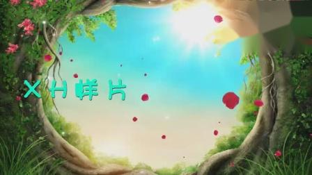 D2树洞阳光蓝天草地唯美梦幻粒子花瓣森林童话绿野仙踪led大屏幕背景视频素材