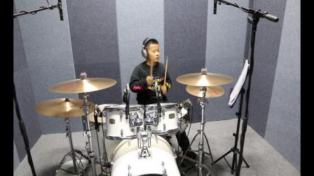 泰安七乐音乐艺术中心  赵洪毅  爵士鼓演奏《热气球》