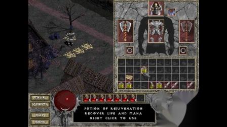 《暗黑破坏神:地狱火》地图清理大师 野蛮人06