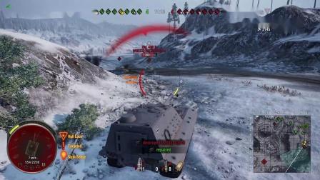 坦克世界 PS4主机板手柄玩大白兔是什么赶脚