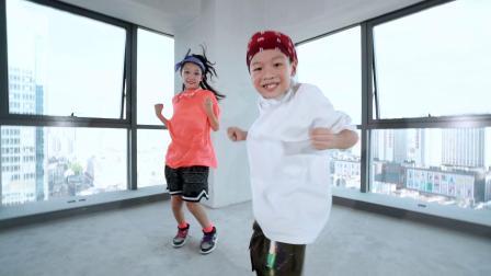 【hiphop小课展示】别人家的小孩之hiphop姐弟组合