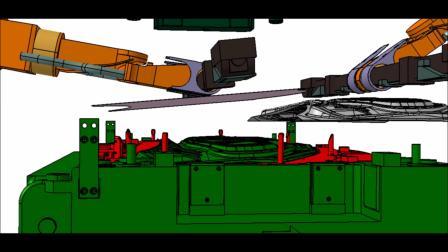 压力机的3D离线仿真与实时操作