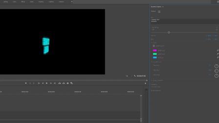 PR预设 霓虹灯特效文字Logo动画 Neon Generator Toolkit