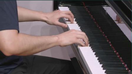2022版-上音钢琴考级-示范-第六级《a小调二部创意曲》