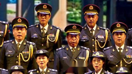 天坛周末17061 大合唱《我爱你中国  革命人永远是年青》北京老兵军乐团 军歌嘹亮合唱团 和平之翼合唱团