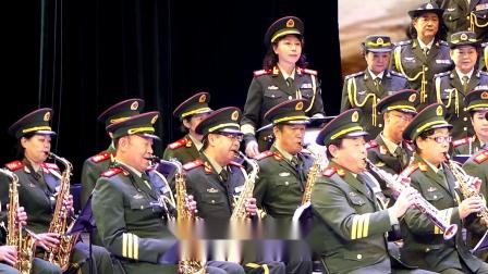 天坛周末17060 军乐队齐奏《中国军魂》北京老兵军乐团
