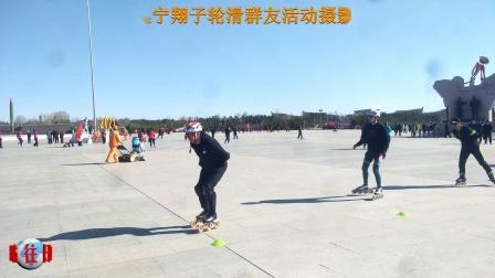 乌兰察布集宁翔子轮滑群友活动实拍《往日时光》