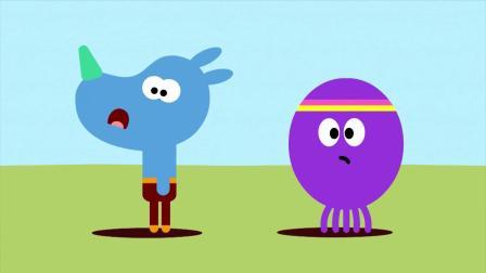艺术鼠过生日,阿奇做气球,还是各种形状的呢
