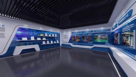 小型企业展厅设计方案这么做,也能高端大气上档次!