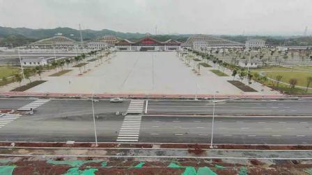 麻阳高铁西站 展开宽阔广场 即将竣工运营【2】