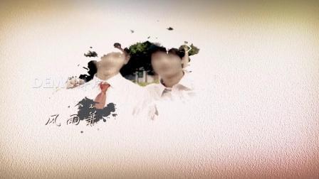ae片头 pr模板 614大气水墨中国风同学联谊会开场视频片头ae模板 视频制作