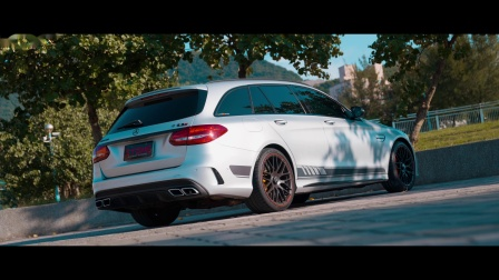 Mercedes AMG S205 M177 C63s / Stone Eddy Catted Downpipe